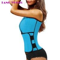 TANG YOUNG Neoprene Body Shaper Sauna Vest Body Shaper Slimming Waist Trainer Workout Shapewear Adjustable Sweat