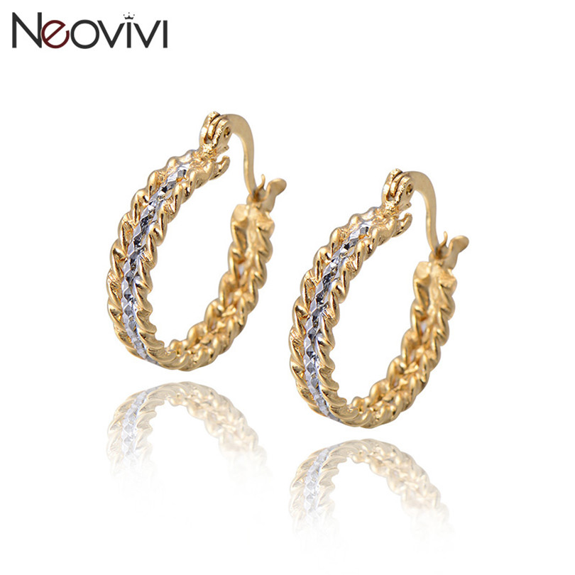 Elegant Gold Hoop Earring Designs | Jewellry\'s Website
