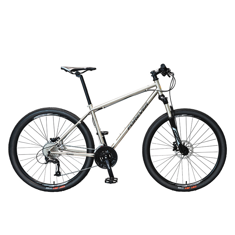 Mountain Bike 27.5 Inch Adult Men And Women Double Disc Brake Chrome Molybdenum Steel Frame Suitable For 170-195cm