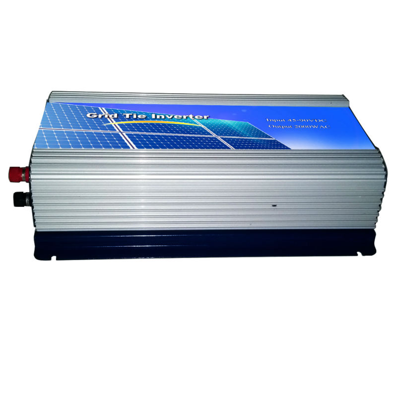 MAYLAR@ 2000W Grid Tie Power Inverter Pure Sine Wave Inverter 2KW 45-90VDC to AC 220VAC Solar Grid Tie Inverter maylar 1500w grid tie power inverter pure sine wave inverter 45 90v dc to ac 110vac solar grid tie inverter with lcd display