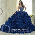 Dk luxo nupcial vestido de 15 años 2017 custom made quinceanera vestidos princesa vestido de baile sweet 16 debutantes