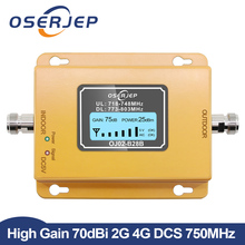 70dB LCD LTE 700MHz B28B 4G Cell phone Signal Booster Repeater not include antenna