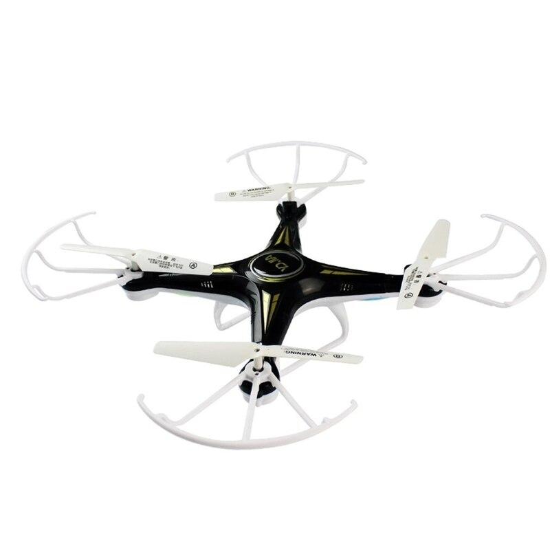 WiFi Drone télécommande quadrirotor 720P HD caméra hélicoptère enfants Selfie Drone noir meilleurs cadeaux pour les garçons