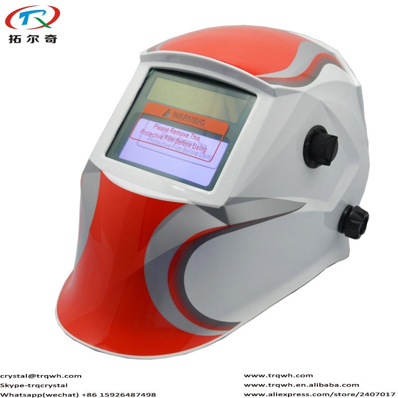TRQ JD06 2200DE 送料無料溶接ヘルメット自動ダーク Tig Mig アーク Mma アルゴンはんだ溶接機目の保護フルフェイス使用 -