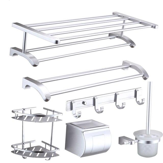 Nuovo Design Moderno Spazio Alluminio Accessori Bagno Prodotti Da ...