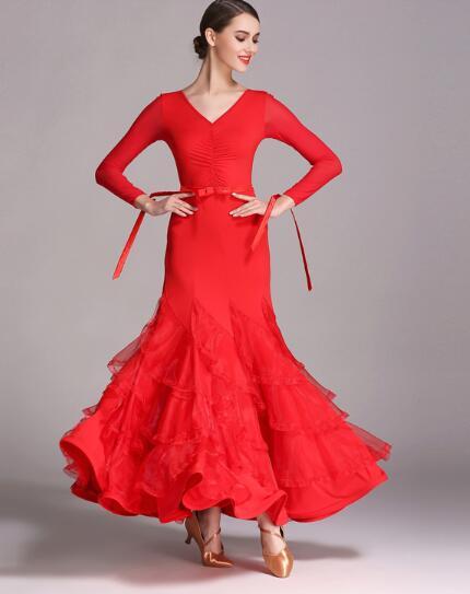 f5f3ae6f00 Big Discount Quick Step Dress Ballroom Dancing Dresses Ballroom Dancing  Dress Girls Vestidos De Danza Moderna For Sale at AliExpress
