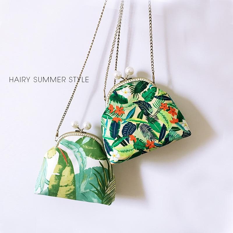 Sac à main femme 16 cm métal cadre sacs Professiona fait main bricolage artisanat matériel paquet cadeau pour ami (17.5 CM * 16.5 CM * 6 CM)
