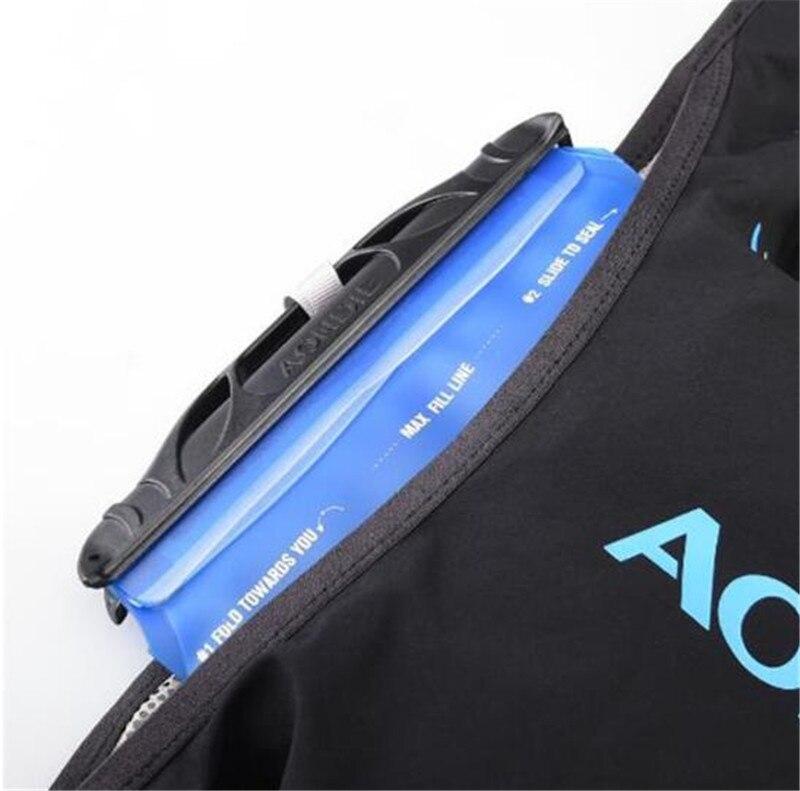 AONIJIE 5L sac à dos d'hydratation sac à dos gilet Marathon cyclisme escalade sac à dos d'eau harnais vessie course à pied - 4