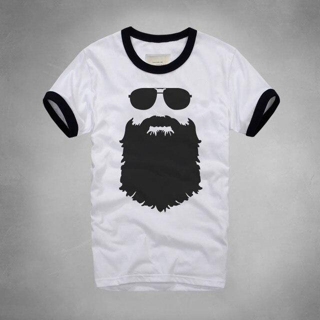 67a735524 Fashion Style Printed Beard T Shirt Casual Famous Brand Husband Gift Beer  Short Sleeve Gentleman Custom