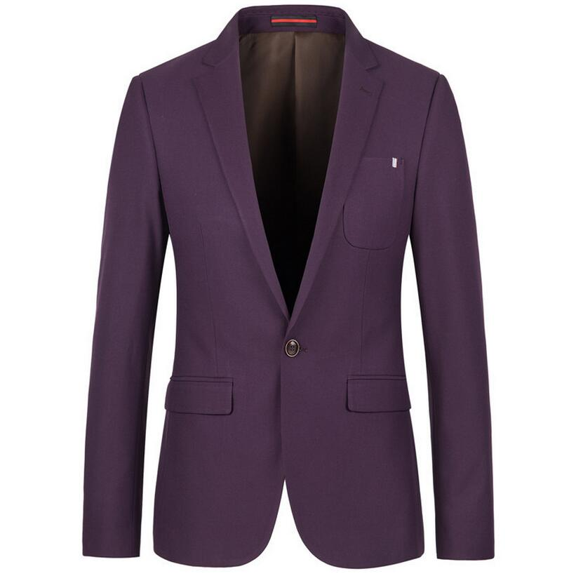 Online Buy Wholesale Mens Purple Blazer From China Mens Purple Blazer Wholesalers | Aliexpress.com