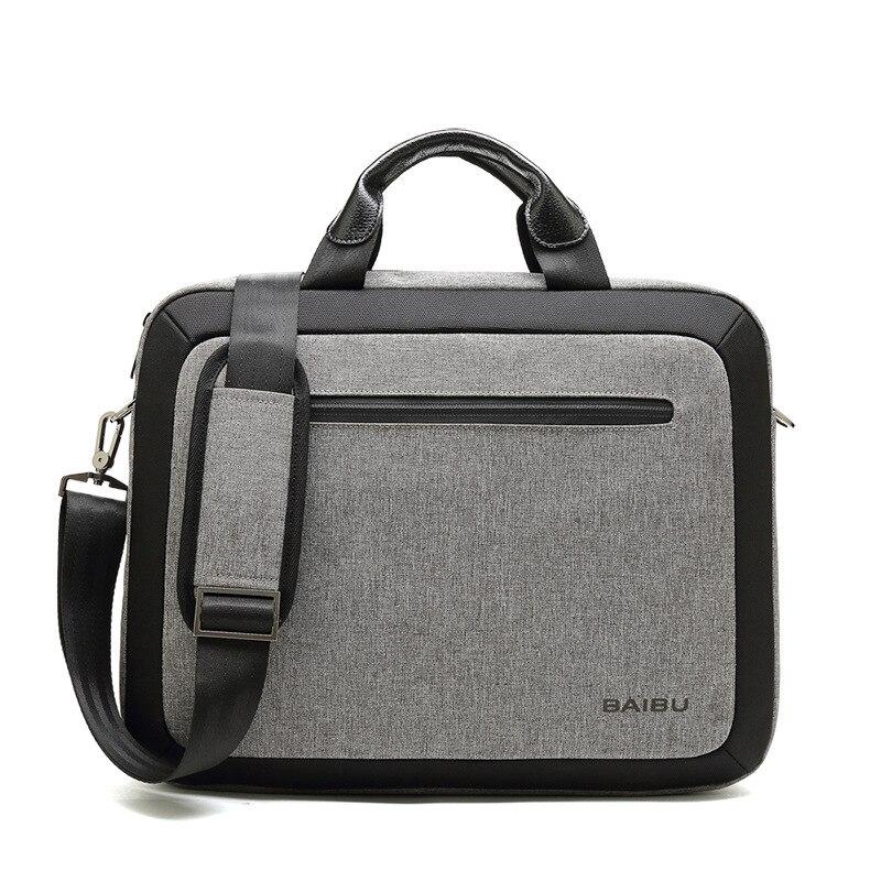 Notebook PC Handbag Office Bags for Men Work Bag Briefcase Portafolio 15 6 Inch Laptop Bag