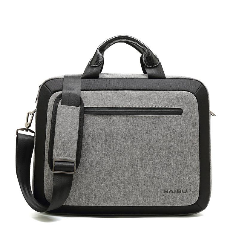 Us 36 32 43 Off Notebook Pc Handbag Office Bags For Men Work Bag Briefcase Portafolio 15 6 Inch Laptop File Pocket Manager Business In