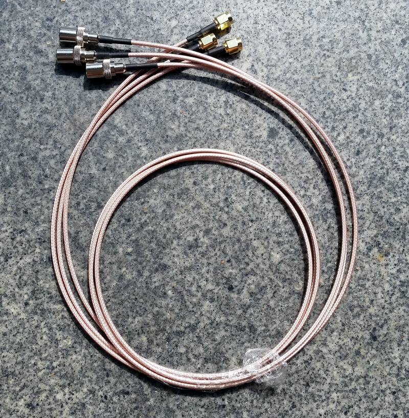 100cm CATV TV antenna 9.5 Male to SMA male cable connector cable TV RF 9.5 to SMA male connector RG316 cable 1pcs dvb t rf coaxial to mcx tv antenna connector black 22cm cable