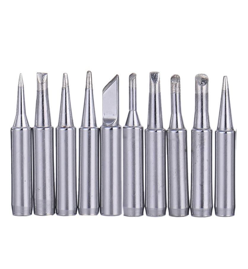 10pcs 900M Soldering Iron Tip 936 937 907 Electric Iron For Constant Temperature Soldering Iron Head Electric Soldering Irons