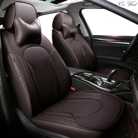 Car Wind Custom leather car seat cover for toyota volkswagen RAV4 skoda rapid Lexus ES IS LS RX NX LX Prado Kia CAR accessory