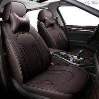 Car Wind Custom Leather Car Seat Cover For Toyota Volkswagen RAV4 Skoda Rapid Lexus ES IS