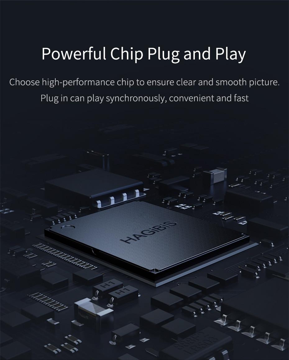 USB C to HDMI VGA 12