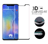 5PCS/Lot For Huawei Mate 20 Pro 3D Curved Tempered Glass Full Cover 9H Protective Film Screen Protector For Huawei Mate 20 Pro