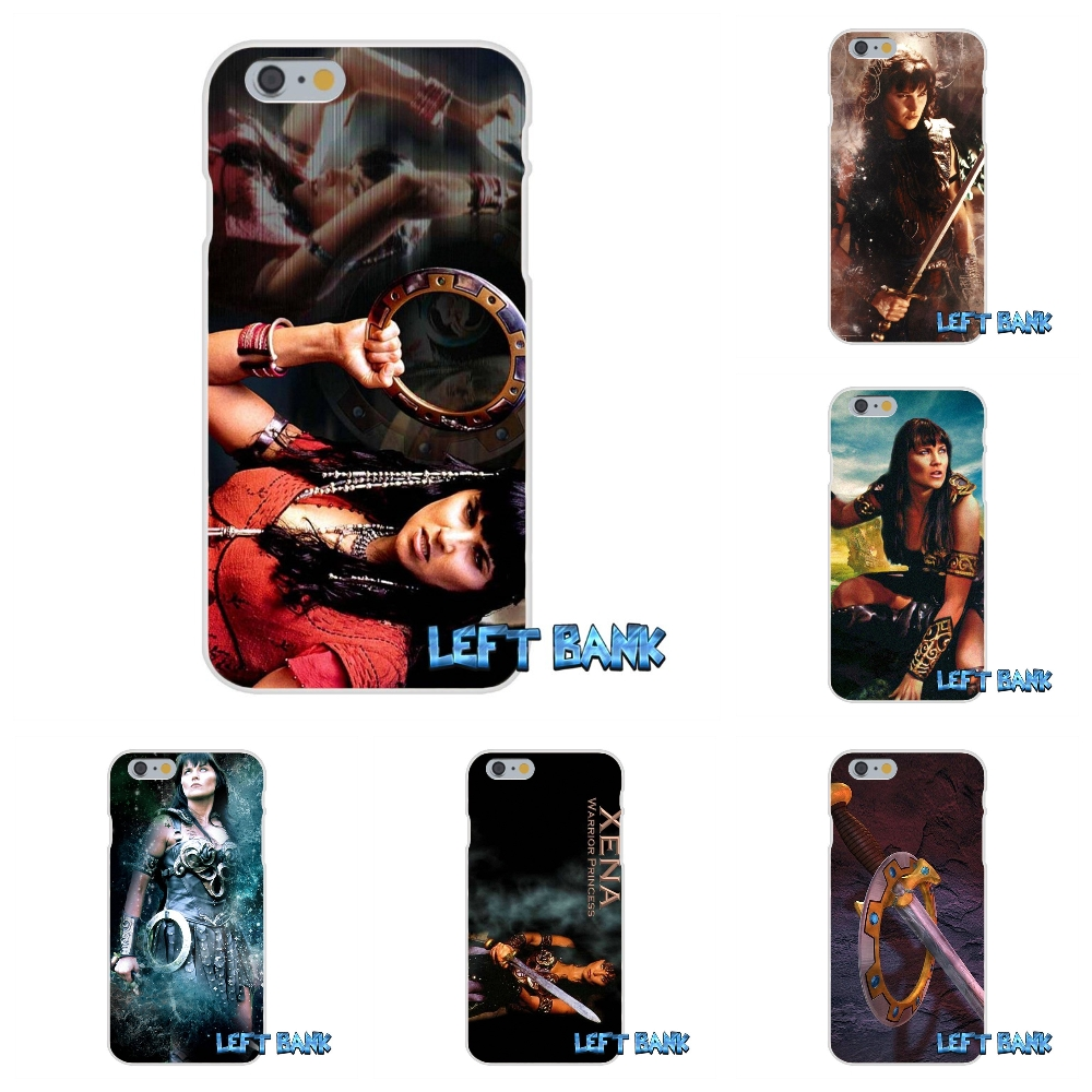 xena warrior princess Soft Silicone TPU Transparent Cover Case For iPhone 4 4S 5 5S 5C SE 6 6S 7 Plus