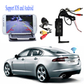 WiFi Transmitter Signal Repeater + waterproof wide angel Car Rear View Backup Camera Support for IOS Android phone pad monitor