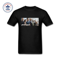 2017 Hot Sale Fashion Clothes Casual Fast And Furious 7 Tops Cotton Funny T Shirt For