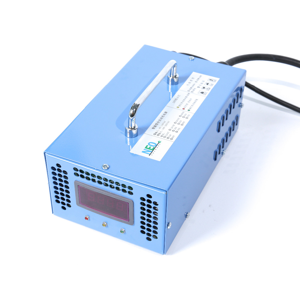 24V 40A Car Battery Charger High Frequency Lead Acid Battery Charger Reverse Pulse Desulfation Battery Maintenance 48v 25a high frequency lead acid battery charger negative pulse desulfation battery charger