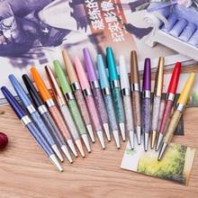 Шариковая Хрустальная шариковая ручка металл инструмент для письма студенческие Канцтовары офисный школьный выбор цветов подарки со стразами