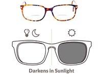 1 56 Aspheric Photochromic Bifocal Sunglasses Prescription Lenses For Myopia And Reading DD1505