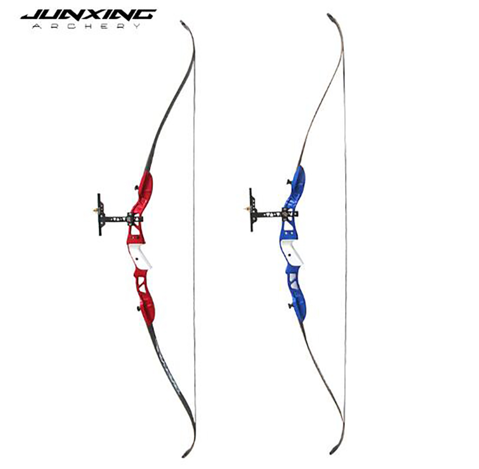 3 Colors 63inches Recurve Bow 20-32 Lbs Aluminum Alloy Handle And Maple Wood Backed High Strength Fiberglass Limbs With Sight