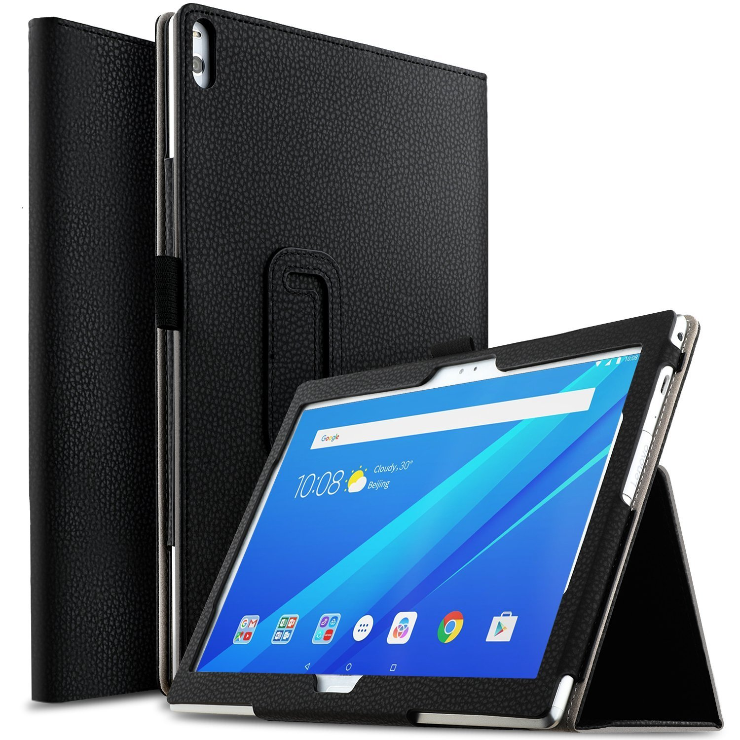 TAB 4 10 Plus Case Flip PU Leather Stand Cover Case for For Lenovo Tab 4 10 Plus TB-X304F/X304N TB-X704F/X704N 10 Funda Case ultra thin smart flip pu leather cover for lenovo tab 2 a10 30 70f x30f x30m 10 1 tablet case screen protector stylus pen