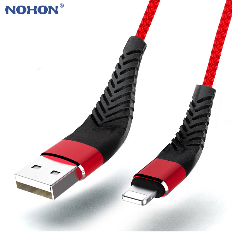 Data USB Charger Cable For iPhone Xs Max XR X 10 5 6 s 6s 7 8 Plus 5s iPad Mini 20cm 1m 2m 3m Fast Charging Short Long Wire Cord|Mobile Phone Cables| |  - AliExpress