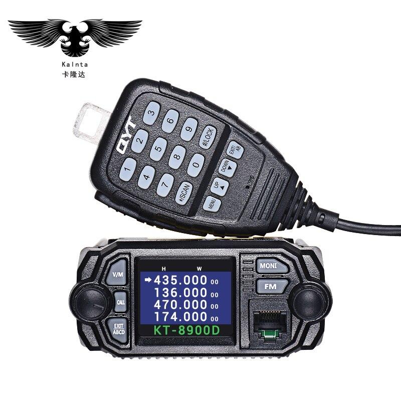 QYT-KT8900D μίνι αυτοκίνητο Ταϊβάν - Φορητό ραδιοτηλέφωνο - Φωτογραφία 2