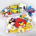 Frete grátis 6 pcs dos desenhos animados cotton boxer briefs underwear meninos crianças para roupas íntimas crianças padrão misto a preço de fábrica