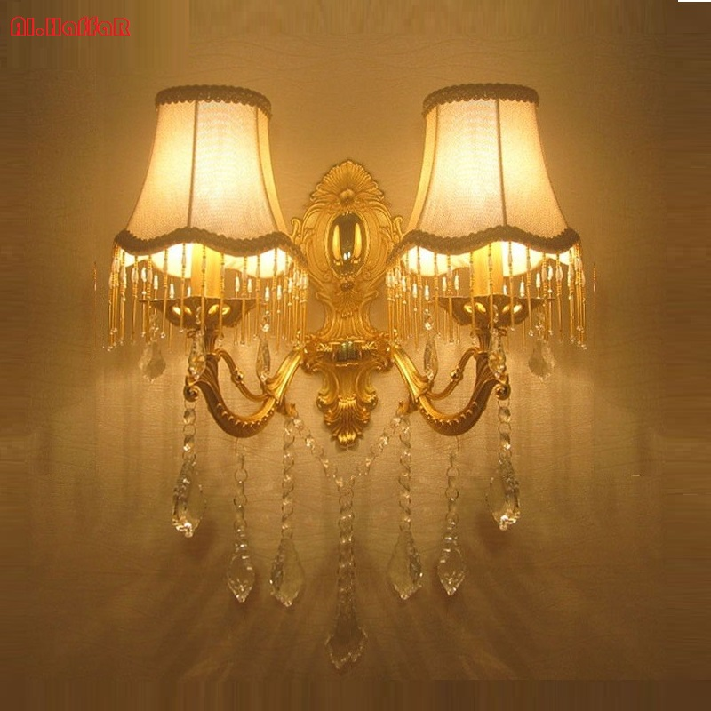 Free Shipping Modern Crystal wall light fashion  wall bracket crystal k9 Golden Modern wall lamps crystal golden Luxury sconceFree Shipping Modern Crystal wall light fashion  wall bracket crystal k9 Golden Modern wall lamps crystal golden Luxury sconce
