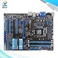Para asus p8z68-v lx original usado motherboard desktop para intel z68 soquete LGA 1155 Para i3 i5 i7 DDR3 32G SATA3 USB3.0 ATX