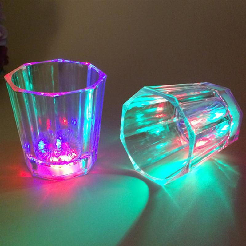 24Pcs LED Water Induction Flashing Luminous Light Up