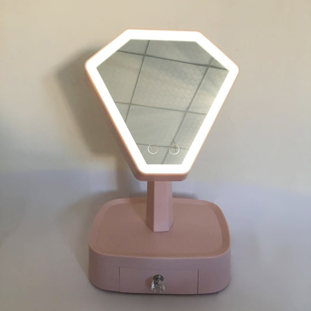 High quality LED Makeup Mirror Big size princess vanity mirror Touch Screen 4 In 1 Storage Mirror light and speakersHigh quality LED Makeup Mirror Big size princess vanity mirror Touch Screen 4 In 1 Storage Mirror light and speakers