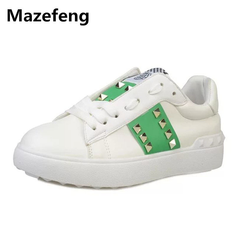 2016 new fashion women shoes Korean all match students casual shoes lace breathable zapatos mujer