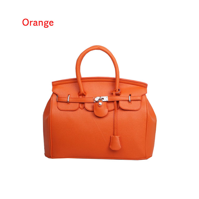 9eac2ab68b937 Hot Sale Vintage Celebrity Girl Faux PU Leather Tote Hand Bags for women  fashion designer bolsos shoulder bag Woman Handbag