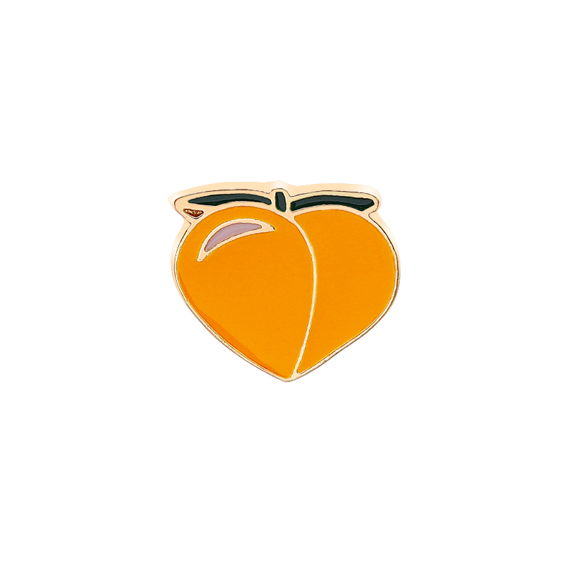 2019 Personality Trend Brooch Pin Fruit Theme Yellow Peach Cherry Strawberry Pineapple Banana Brooch Pin Clothes Hat Jewelry in Brooches from Jewelry Accessories