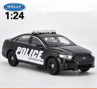 1:24 scale advanced alloy car toy,Ford interceptors swat cop car,diecast metal model,2 open doors toy vehicle,free shipping