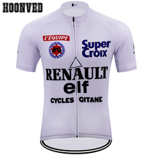ce2549675 2019 Go Pro Men Retro RENAULT elf cycling jersey Short sleeved clothes  Summer gobik classic Mtb