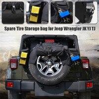 Запасное колесо Организатор Набор для 30 33 Диаметр шин R16 R18 для Jeep Wrangler JK YJ TJ Reserverad автомобиль грузовой сумка для хранения