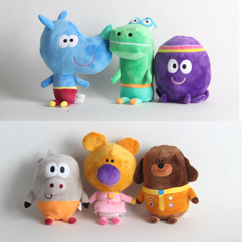 20-28cm Hey Duggee Duggee Norrie Betty Tag Happy Roly Stuffed Plush Toy Doll Children Kids Christmas gifts