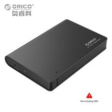 ORICO 2598C3-BK Aluminium 2.5 SATA3.zero USB3.zero HDD Enclosure Case Kind-c Onerous Disk Field Assist Scorching Plug 9.5mm & 12.5mm Onerous Drive