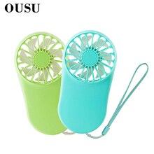 OUSU Phone Gadget Portable mini ventilador USB Fan Rechargeable Office Gadgets Cooler gadzety Cute ventilateur Accessories