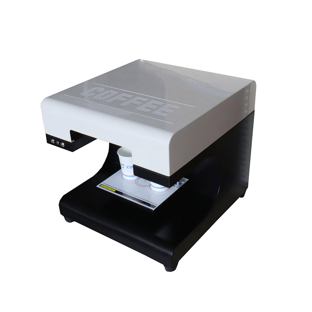 все цены на CE Approved Latte Art Printing Machine Selfie Latte Coffee Printer, Automatic Edible Chocolate Food Printer Printing 2 cups