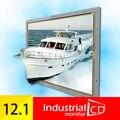 """Industiral 12.1 """"Open Frame ЖК-Монитор С Сверхвысокого Разрешения с Интерфейсом HDMI 12.1 дюймов Видеонаблюдения Удаленный Монитор"""