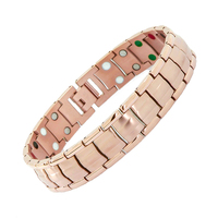 100 New Design Health Bracelet Bangle For Men Women Fashion Jewelry Magnet Germanium Tourmaline Double Line