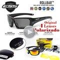 Qualidade Original Polarizada Ess ROLLBAR Sunlgasses 4 Lentes De Oculos De sol Óculos de Proteção UV Homens Revo Óculos de sol Com Caixa 2016
